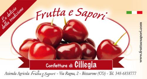 Confettura extra di CILIEGIA 240 gr