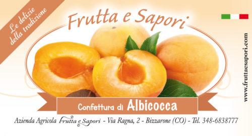 Confettura extra di ALBICOCCA 240 gr