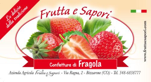 Confettura extra di FRAGOLA 240 gr