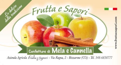 Confettura extra di MELA E CANNELLA 240 gr