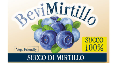 Succo 100% mirtillo 500ml