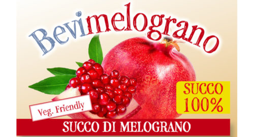 Succo 100% di melograno 500ml