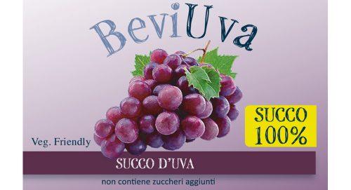 Succo 100% uva rossa SENZA ZUCCHERI AGGIUNTI 500ml